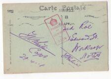 WW1 Army PO2 Postmark 29 Apr 1918 Dunkerque France Postcard 962b