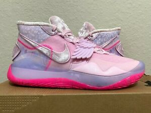 Nike KD 12 Xmas Aunt Pearl Multi-Color Pink Kevin Durant (CT2740-900) size 10.5