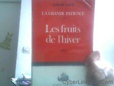 Bernard Clavel pour Les fruits de l'hiver