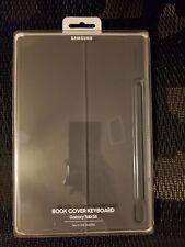 Samsung Galaxy Tab S6 Book Cover Keyboard - Grey Genuine