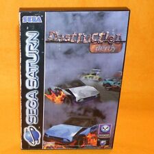 VINTAGE 1995 SEGA SATURN DESTRUCTION DERBY VIDEO GAME PAL & FRENCH SECAM VERSION
