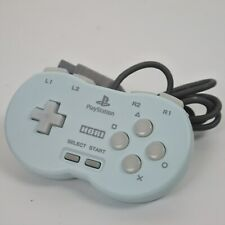 HORI POCKET CONTROLLER Blue PS1 Playstation Working Tested Ref 2223 Japan