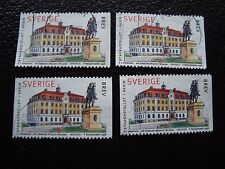 SUEDE - timbre yvert et tellier n° 2025 x4 obl (A29) stamp sweden (E)