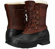 Polo Ralph Lauren Mens Longhirst Cold Weather Shearling Hiking Trail Ankle Boots