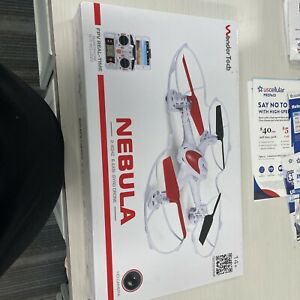 Wonder Tech NEBULA Quadracopter Drone Complete IOB Tested Works