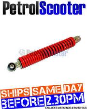 Amortiguadores y suspensiones color principal rojo para scooters