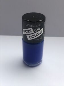 Gel Nail Polish Collection Work The Colour 8ml