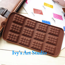 Mini Choc Bar Flexible Silicone Mold Candy Chocolate Cake Jelly Mould