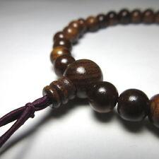 Sendan wood Bracelet Japanese Juzu Prayer beads Asian Rosary Zen Kyoto UDA35