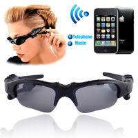 UV Gafas de Sol Auricular Bluetooth Inalámbrico al Aire Libre con Micrófono