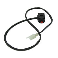 Kill Stop Outboard Engine Switch Push Button for Motorcycle Dirt Pit Bike