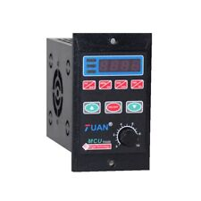 New 750W Single Phase Frequency Converter 1HP VFD 3 Phase Output 110/220V