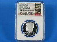 2020 S  Silver Kennedy Half Dollar, 10-Coin Pf Set  NGC  PF 70 Ultra Cameo  FDOI