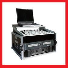 "WINKELRACK 6/10HE MIT NOTEBOOKPLATTE,19"" zb. BPM STUDIO 9mm Holz Laptop DJ NEU"