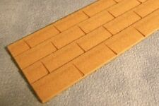 MDF Wood Roof Tile, Doll House Miniature, Building & DIY. 1.12 Scale, Roofing