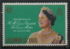 Solomon Is 1980 80th B/D Queen Mother SG 421 MNH
