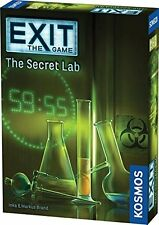 Exit The Game The Secret Lab Thames & Kosmos TAK 692742 Escape Room Card