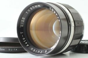 【Near Mint】 Olympus G Zuiko Auto T 60mm f/1.5 Lens for Pen F FT FV From Japan