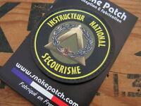 SNAKE PATCH PVC - BREVET insigne INSTRUCTEUR NATIONAL SECOURISME - Ecusson PVC