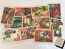 National Periodical Publications 1966 Batman Trading Cards x11