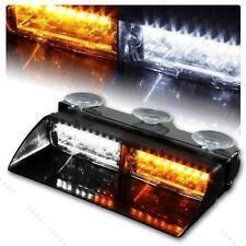 Car Truck Emergency Warning Strobe Lights 16 LED Windshield Vehicle Flash Light