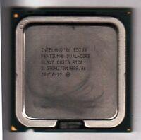 INTEL SLAY7 PENTIUM DUAL CORE E5200 2.5GHZ 2MB L2 800MHZ FSB LGA775 CPU - NICE!