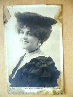 Postcard - Theater Actresses MISS MARIE STUDHOLME, No.524 V
