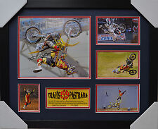 TRAVIS PASTRANA SIGNED AND FRAMED LIMITED EDITION