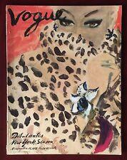 Vogue Magazine ~ November 15, 1939 ~ Erickson Beautiful Cover