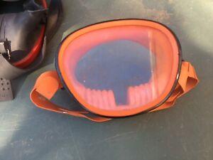 Vintage GENOVA diving mask. Scuba, snorkelling.