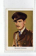 (Jd3683) SALEM,FILM STARS,RONALD COLMAN,1930,#127