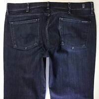 mens 7 for all mankind STANDARD Straight Leg Blue Faded jeans W38 L33 (767g)