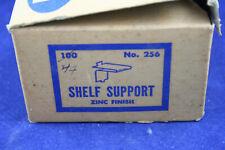 Box of 44 Kv Hardware Zinc Finish Shelf Supports #256