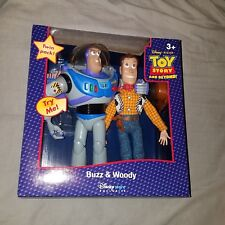 Toy Story Deluxe Buzz & Woody Action Figure Twin Pack Disney Store Exclusive!