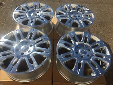 "SET OF FOUR 20"" WHEELS RIMS fits FORD F150 PICKUP EXPEDITION POLISHED NEW"
