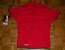 "*NEW* Giordana Donna ""6"" Made Italy Cycling Shirt Womens Jersey Red Radtrikot"