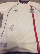 Ashley Cole Chelsea, Arsenal Legend Signed England Shirt.