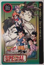 Jumbo Carte Dragon Ball GT Jumbo Carddass Cinema Chip Shooter #0 GT 0 Card