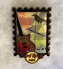 HARD ROCK CAFE BALTIMORE POSTAGE STAMP CITY SERIES PIN # 74916