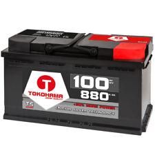 Autobatterie TOKOHAMA 12V 100Ah Starterbatterie WARTUNGSFREI TOP ANGEBOT NEU