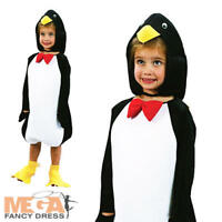 Penguin Kids Fancy Dress Zoo Sea Animal Boys Girls Toddlers Book Day Costume