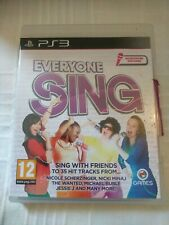 PS3 Everyone Sing Play Station 3