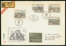 Mayfairstamps Austria Fdc 1965 Cover Wien Ladt Zur Wipa Combo wwk29321