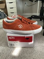 Supreme Vans Suede/Burnt OCH Orange Size 9 - USED
