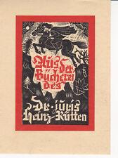 Ex Libris - Aus der Bücherei des Dr. juris Heinz Rütten