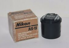 "Nikon AS-11 Acoplador Adaptador para Flash Nikon F3 1/4"" SB-12 SB-17 SB-16A SB-21"