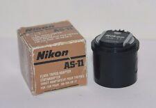"Nikon AS-11 Nikon F3 Flash Coupleur Adaptateur trépied 1/4"" SB-12 SB-17 SB-16A SB-21"