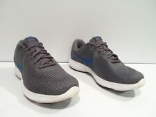 New listing Nike Revolution 4 Men's Shoes Size 10.5 Gray Blue Running Athletic 908988-009