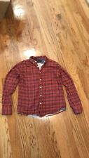 Gravers Red Mens Flannel Size Medium