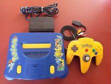 Pokemon Pikachu Limited Edition Nintendo 64 Console Package PAL AUS Seller!